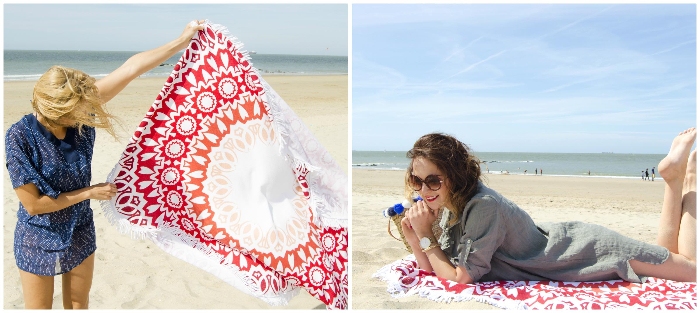 095f4177185dc0 ... zeg hallo tegen dé must-have van deze zomer  de ronde handdoek. Ze zijn  net zo hip als ze klinken. Zonnen breng je met deze ronde XL handdoek naar  een ...