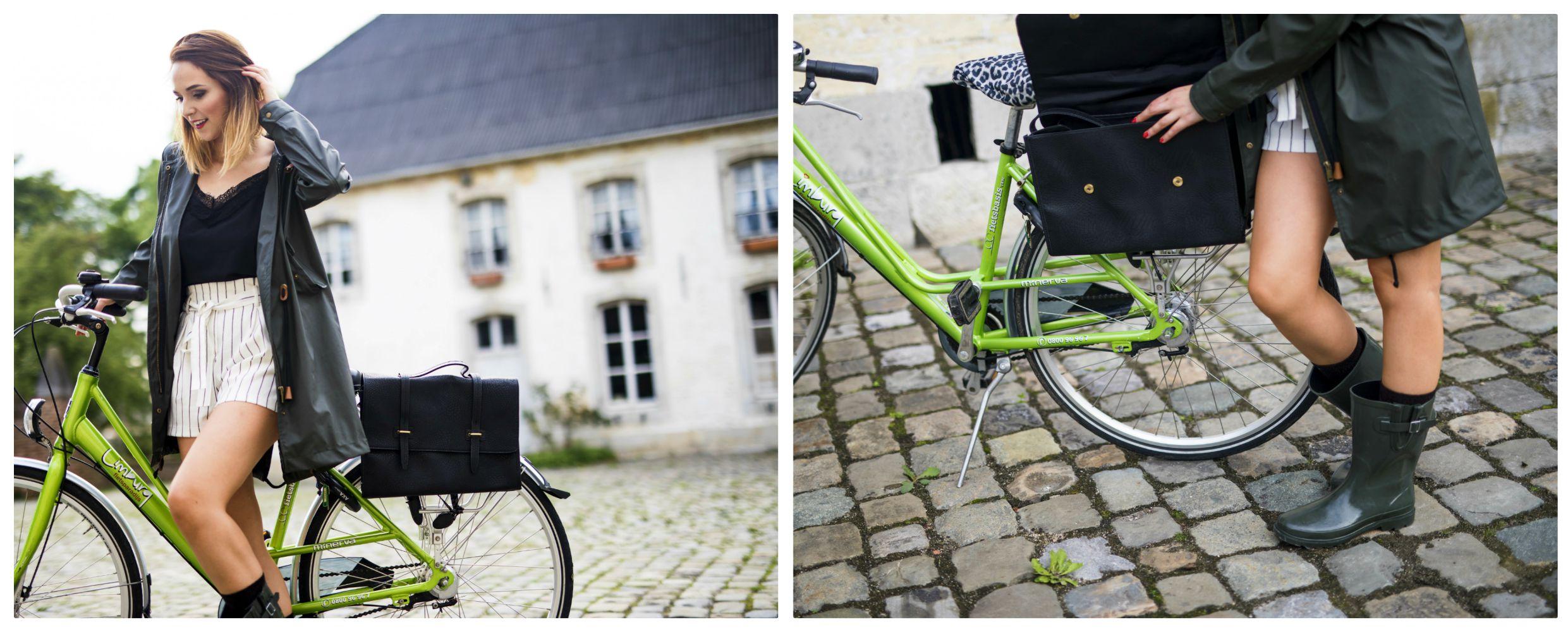 Veritas go out collectie fiets tas regen collection
