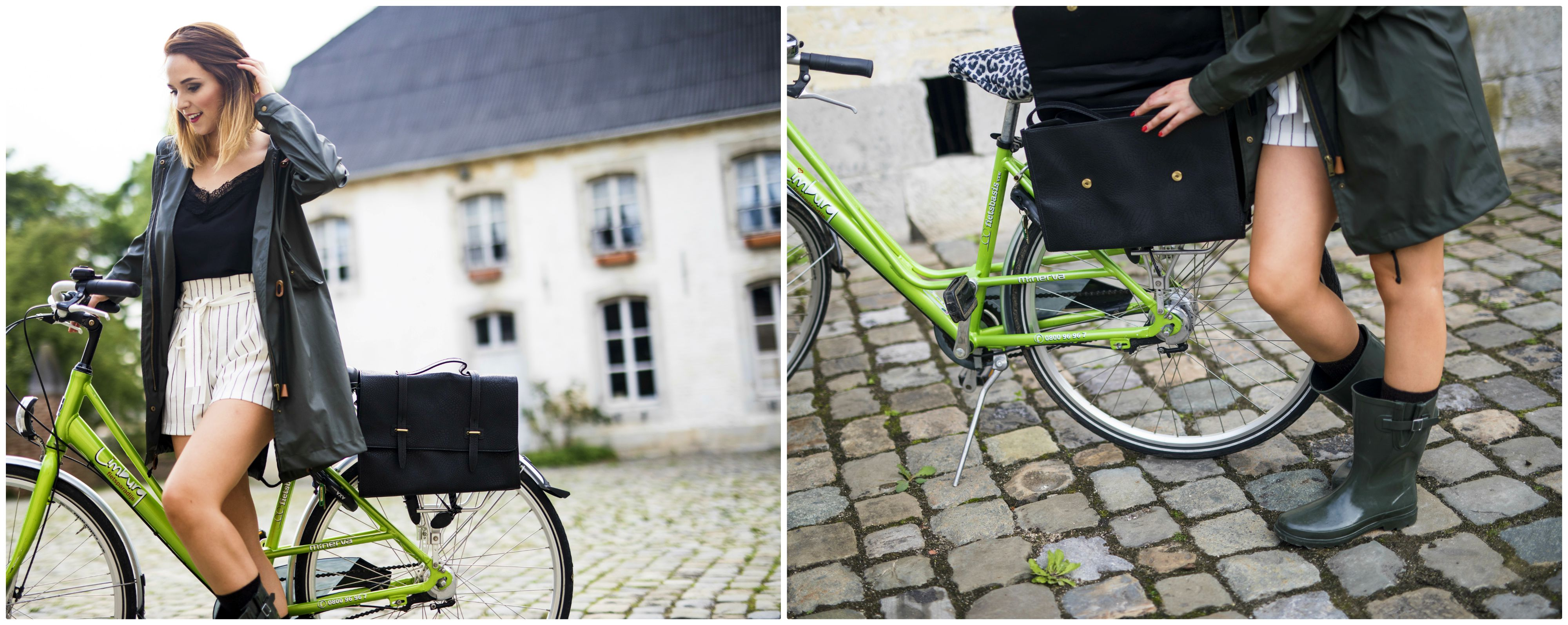 Veritas regen go out fiets collectie tas