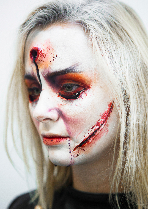 Scary Halloween Make-up